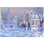 Puzzle  Eurographics-8000-0612 Douglas R. Laird: Eishockey - The Original Six