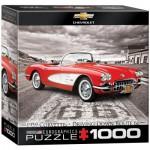 Puzzle  Eurographics-8000-0665 1959 Corvette - Driving Down Route 66