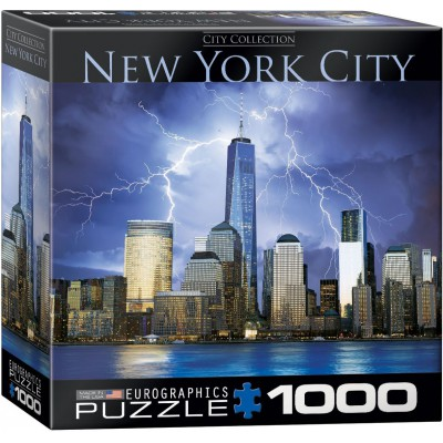 Puzzle  Eurographics-8000-0731 New York World Trade Center