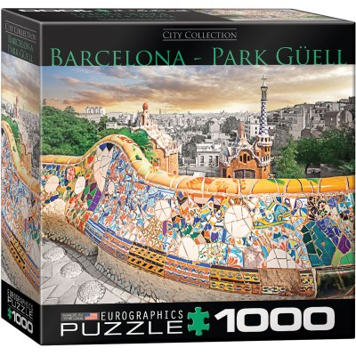 Puzzle  Eurographics-8000-0768 Barcelona Park Güell