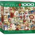 Puzzle  Eurographics-8000-0784 Alte Weihnachten Karten