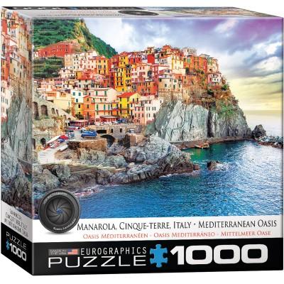 Puzzle  Eurographics-8000-0786 Manarola Cinque Terre Italien