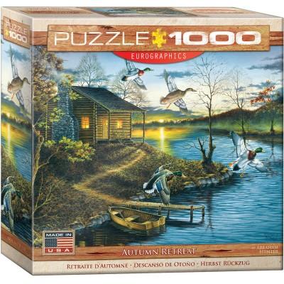 Puzzle  Eurographics-8000-0862 Abraham Hunter - Herbst Rückzug