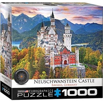 Puzzle  Eurographics-8000-0946 Schloss Neuschwanstein