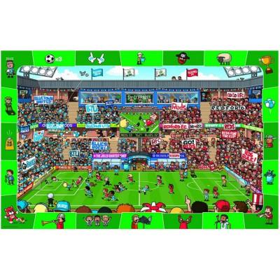 Puzzle  Eurographics-8048-0476 Suche und Finde: Fußball
