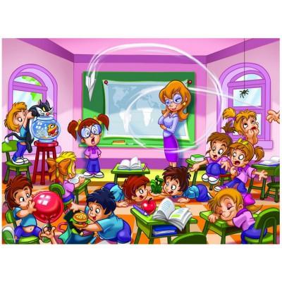 Puzzle  Eurographics-8100-0569 Girl Power -Die Lehrerin