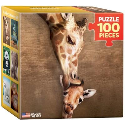 Eurographics-8104-0301 Mini Puzzle - Giraffe