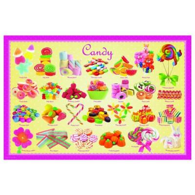 Puzzle  Eurographics-8104-0521 Bonbons