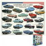 Puzzle  Eurographics-8104-3870 Amerikanische Autos der 50er Jahre