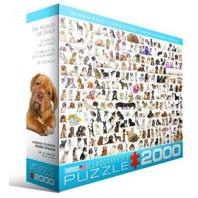 Puzzle  Eurographics-8220-0581 Hunde