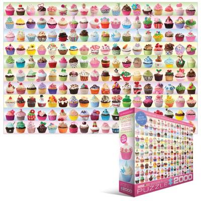 Puzzle  Eurographics-8220-0629 Cupcakes Kollektion