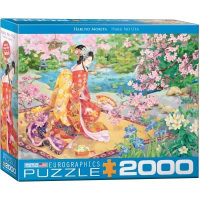 Puzzle  Eurographics-8220-0975 Haru No uta by Haruyo Morita