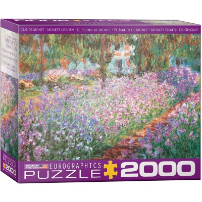 Puzzle  Eurographics-8220-4908 Claude Monet - The Artist's Garden