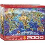 Puzzle  Eurographics-8220-5343 Crazy World