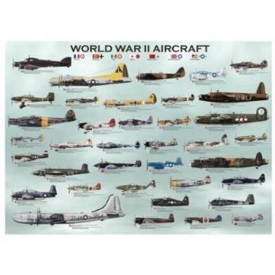 Puzzle  Eurographics-8300-0075 Flugzeuge aus dem Zweiten Weltkrieg