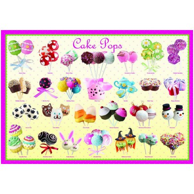 Puzzle  Eurographics-8300-0518 Cake pops
