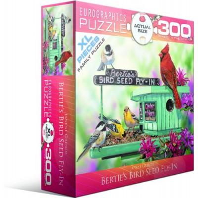 Puzzle  Eurographics-8300-0604 Janine Grende: Bertie's Bird Seed Fly-In