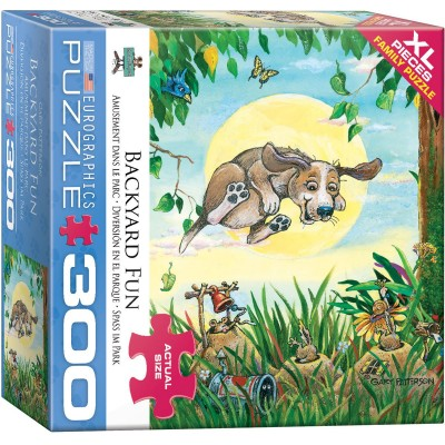 Puzzle  Eurographics-8300-5367 XXL Teile - Backyard Fun Dog