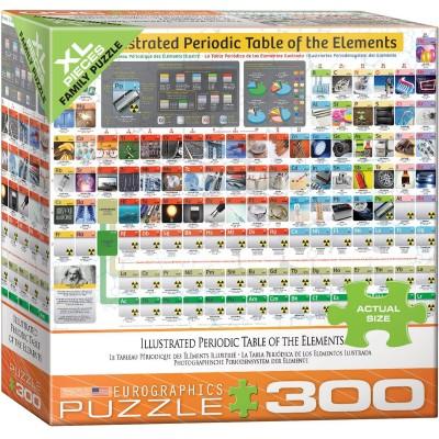 Puzzle  Eurographics-8300-5370 XXL Teile - Illustriertes Periodensystem der Elemente