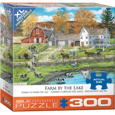 Puzzle  Eurographics-8300-5382 XXL Teile - Gemütliche Farm am Fluss