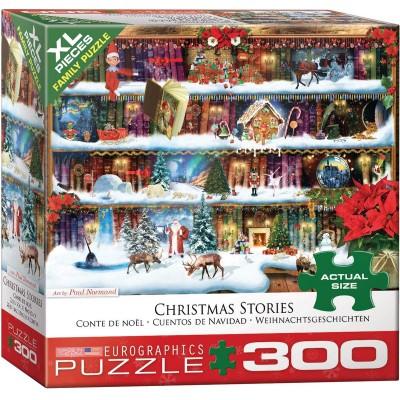 Puzzle  Eurographics-8300-5397 XXL Teile - Weihnachtsgeschichten