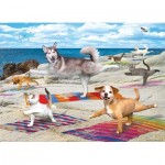 Puzzle  Eurographics-8300-5456 XXL Teile - Yoga Beach