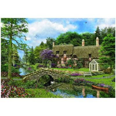 Puzzle  Eurographics-8500-0457 Dominic Davison: Landhaus Cobble Walk