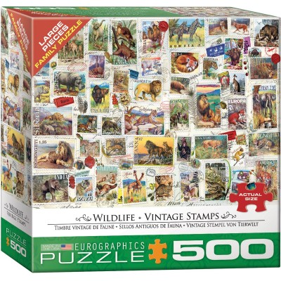 Puzzle  Eurographics-8500-5358 XXL Teile - Wildlife