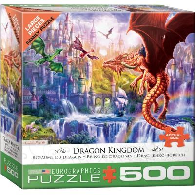 Puzzle  Eurographics-8500-5362 XXL Teile - Drachenkönigreich