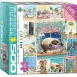 Puzzle  Eurographics-8500-5366 XXL Teile - Süße Katzen Collage