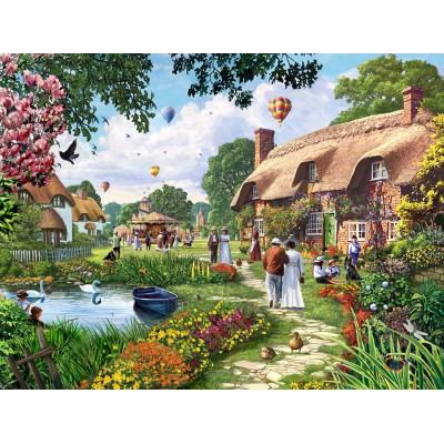 Puzzle  Jumbo-11029 Steve Crisp: A Beautiful Sunday Stroll