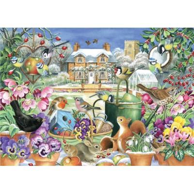 Puzzle  Jumbo-11130 Claire Comerford - Winter Garden