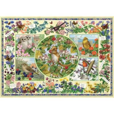 Puzzle  Jumbo-11131 Sarah Adams - The Country Garden
