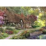 Puzzle  Jumbo-11141 XXL Teile - Dominic Davison - The Carpenter's Cottage