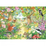 Puzzle  Jumbo-11155 A Woodland Trail