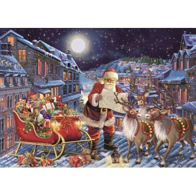 Puzzle  Jumbo-11173 XXL Teile - The Christmas Journey