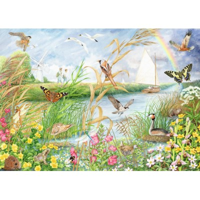 Puzzle  Jumbo-11208 Norfolk Broads