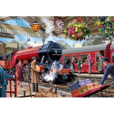 Puzzle  Jumbo-11250 Waiting on the Platform