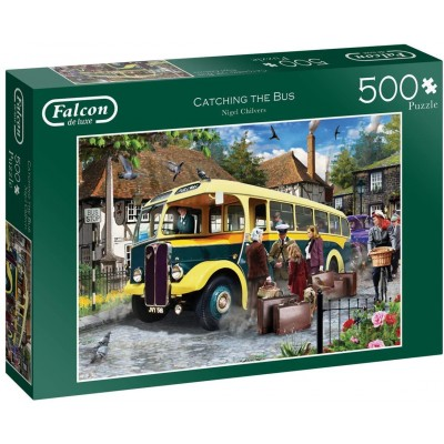 Puzzle Jumbo-11260 Catching The Bus