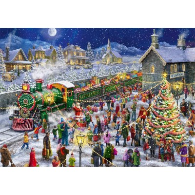 Jumbo-11268 2 Puzzles - Santa's Special delivery