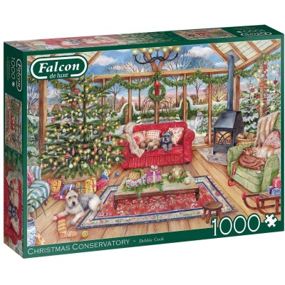 Puzzle  Jumbo-11275 The Christmas Conservatory