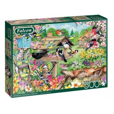 Puzzle Jumbo-11280 Spring Garden Birds