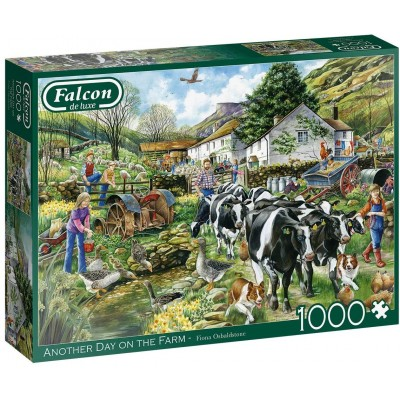 Puzzle  Jumbo-11283 Another Day on the Farm