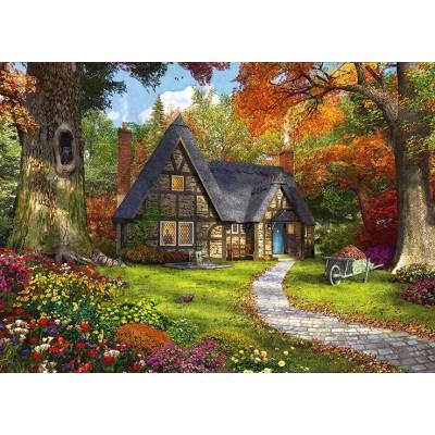 Puzzle  Jumbo-11294 Woodland Cottages
