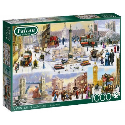 Puzzle  Jumbo-11306 A Winter in London