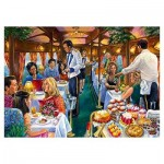 Puzzle  Jumbo-11328 The Dining Carriage