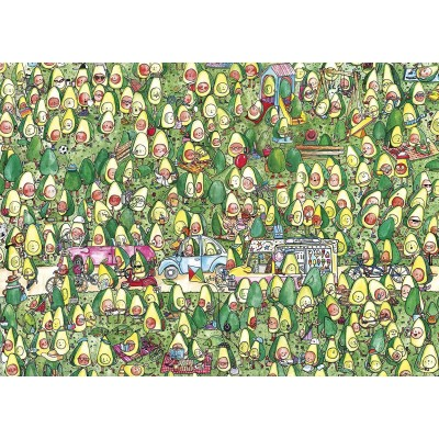 Puzzle Gibsons-G1044 XXL Teile - Avocado Park