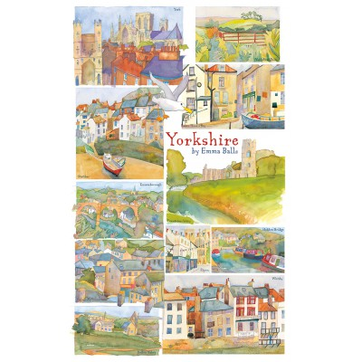 Puzzle  Gibsons-G2511 Emma Ball: Yorkshire
