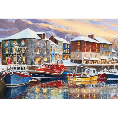 Puzzle  Gibsons-G2708 XXL Teile - Padstow in Winter