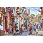 Puzzle  Gibsons-G2710 XXL Teile - Steep Hill